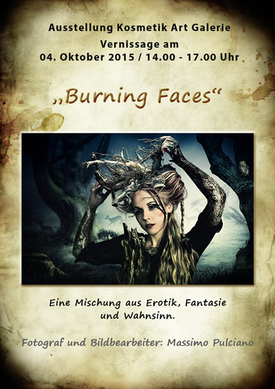 Projekt Burning Faces